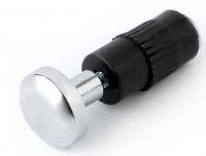 Decorative end plug for tube 16 mm